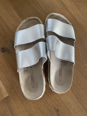 Esprit Sandalo con plateau argento