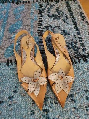 Tentazione Outdoor Sandals cream-beige