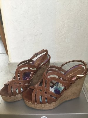 Steve Madden Beach Sandals brown leather