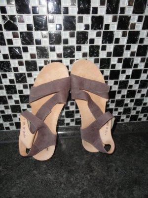 Think! Sandalias cómodas lila grisáceo