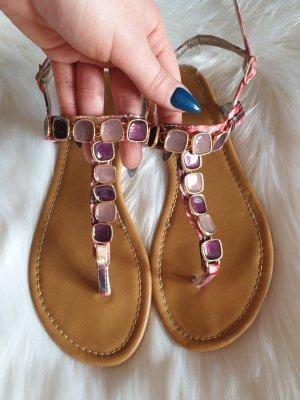 Lesara Sandalo toe-post multicolore