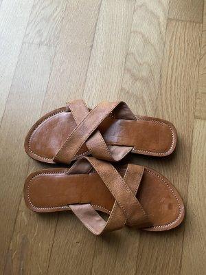 Beach Sandals brown