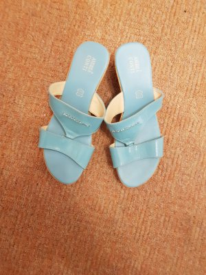 Andrea Conti Platform Sandals baby blue
