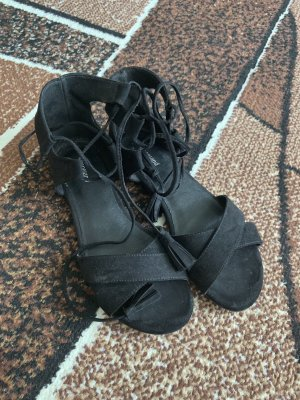 Graceland Roman Sandals black
