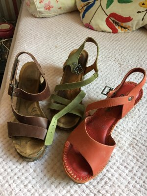 Art Strapped Sandals multicolored leather