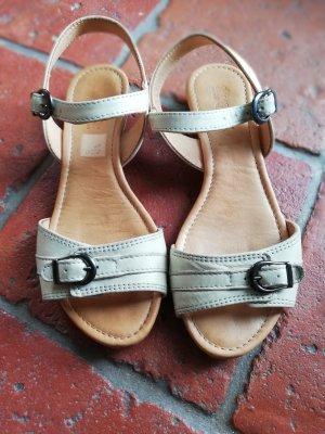 Sandalen aus Leder von Hess Natur