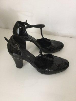 Sandalen aus Leder von Vigneron Gr 36