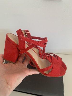 Sandalias Dianette rojo