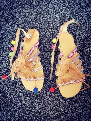 Beach Sandals apricot
