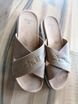 Bench Sandales confort brun