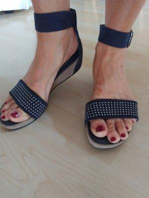 Sandalen blau 40