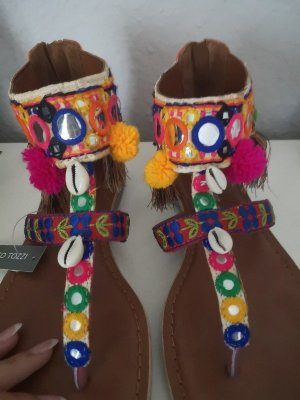 Marco Tozzi Sandalo toe-post multicolore