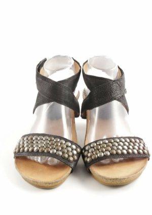 Sandalo comodo nero