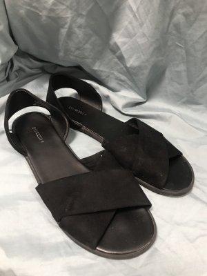 H&M Romeinse sandalen zwart