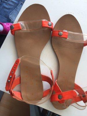 Dianette Sandals neon orange