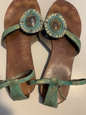 Lola cruz Dianette sandalen munt