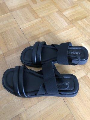 Catwalk Sandalo con plateau nero