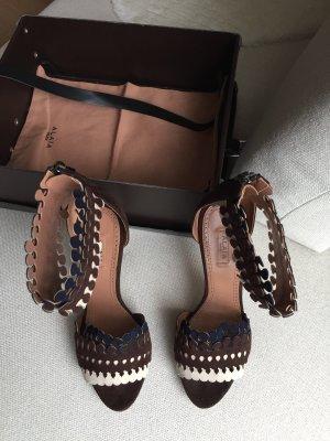 Alaïa High Heel Sandal multicolored