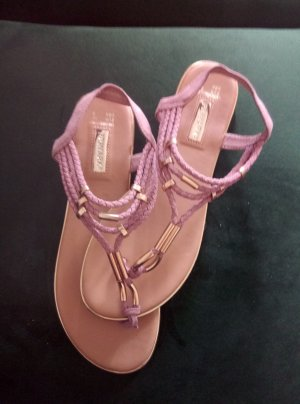 Primark Roman Sandals rose-gold-coloured-gold-colored