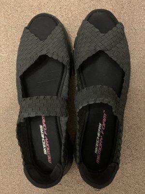 Sketchers Outdoor sandalen zwart Polyester