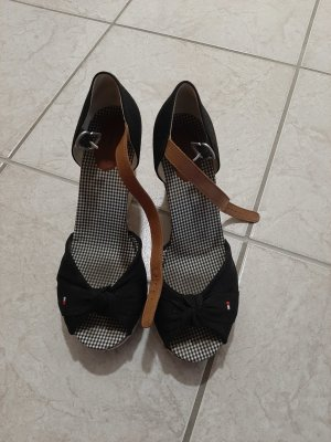 Tommy Hilfiger Sandaletto con tacco alto nero