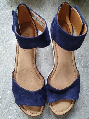 Sandalen, dunkelblau, Gabor, neu