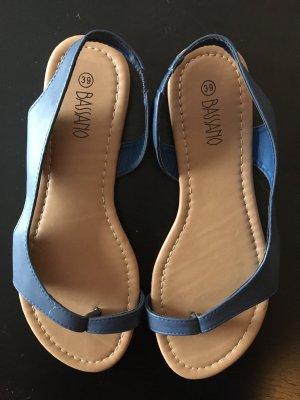 bassano Sandalo toe-post grigio ardesia