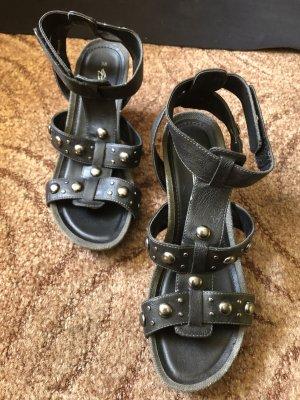 Gino ventori Outdoor Sandals black-dark brown