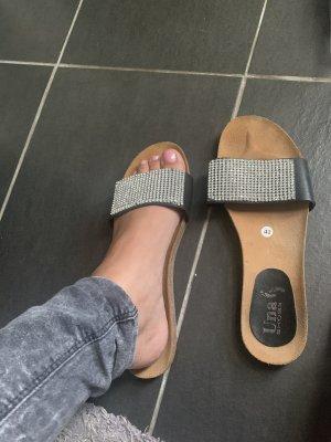 0039 Italy Sandale d'extérieur noir