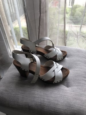 Tamaris Clog Sandals white