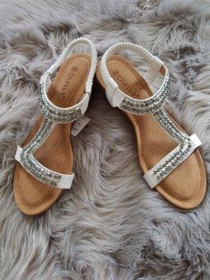 Sandalias cómodas blanco