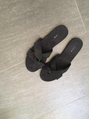 H&M Sandale d'extérieur noir