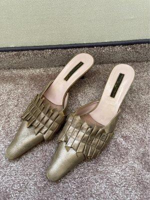 Armando Pollini Outdoor sandalen goud-zandig bruin