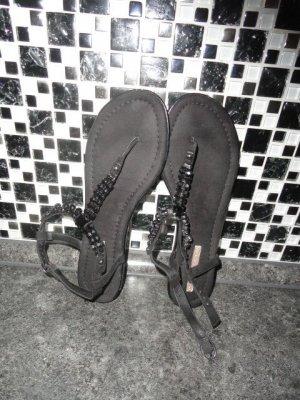Buffalo Flip-Flop Sandals black