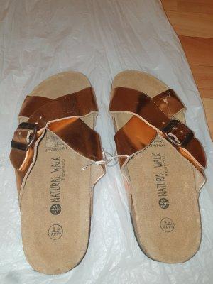 Esmara Flip-Flop Sandals rose-gold-coloured