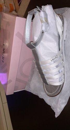 Liu jo Sandały rzymskie biały-srebrny