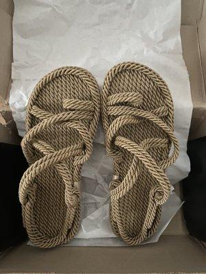 Zalando Toe-Post sandals beige