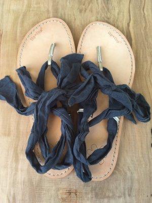 Sandalen Flipflops 39 mit verschiedenen Bändern