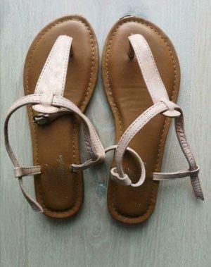 Fritzi aus preußen Flip-Flop Sandals rose-gold-coloured