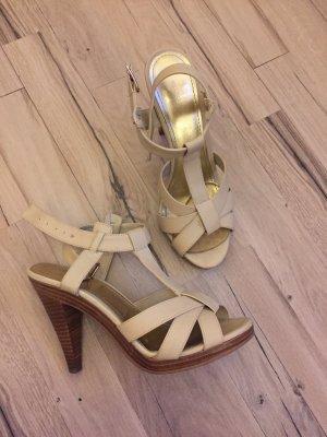 Sandalen Gold - beige