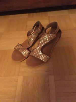 Sandalen Gold römisch