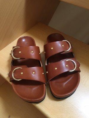 Pavement Sandalo comodo marrone Pelle