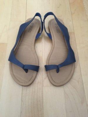 bassano Toe-Post sandals steel blue
