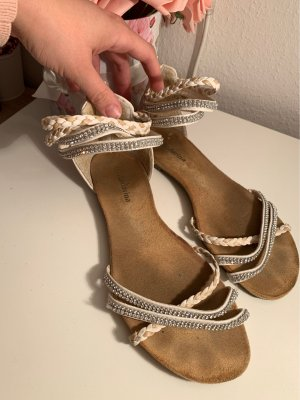 keine Sandalias de playa blanco