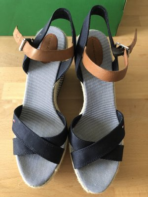 Tommy Hilfiger Platform Sandals blue