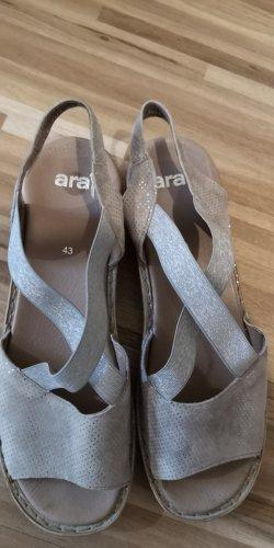 ara Sandalen met bandjes en hoge hakken veelkleurig