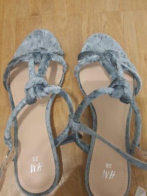 sandalen grau 38 H&M
