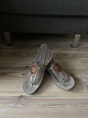 UGG Sandalo toe-post marrone chiaro-grigio chiaro