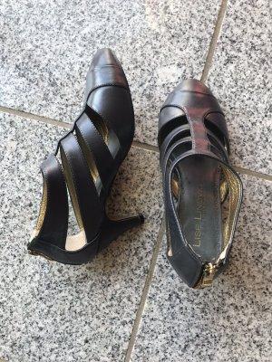 Sandalen graublau/anthrazit