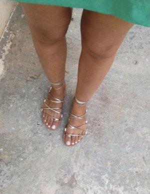 Sandalen griechischer Stil rose Gold
